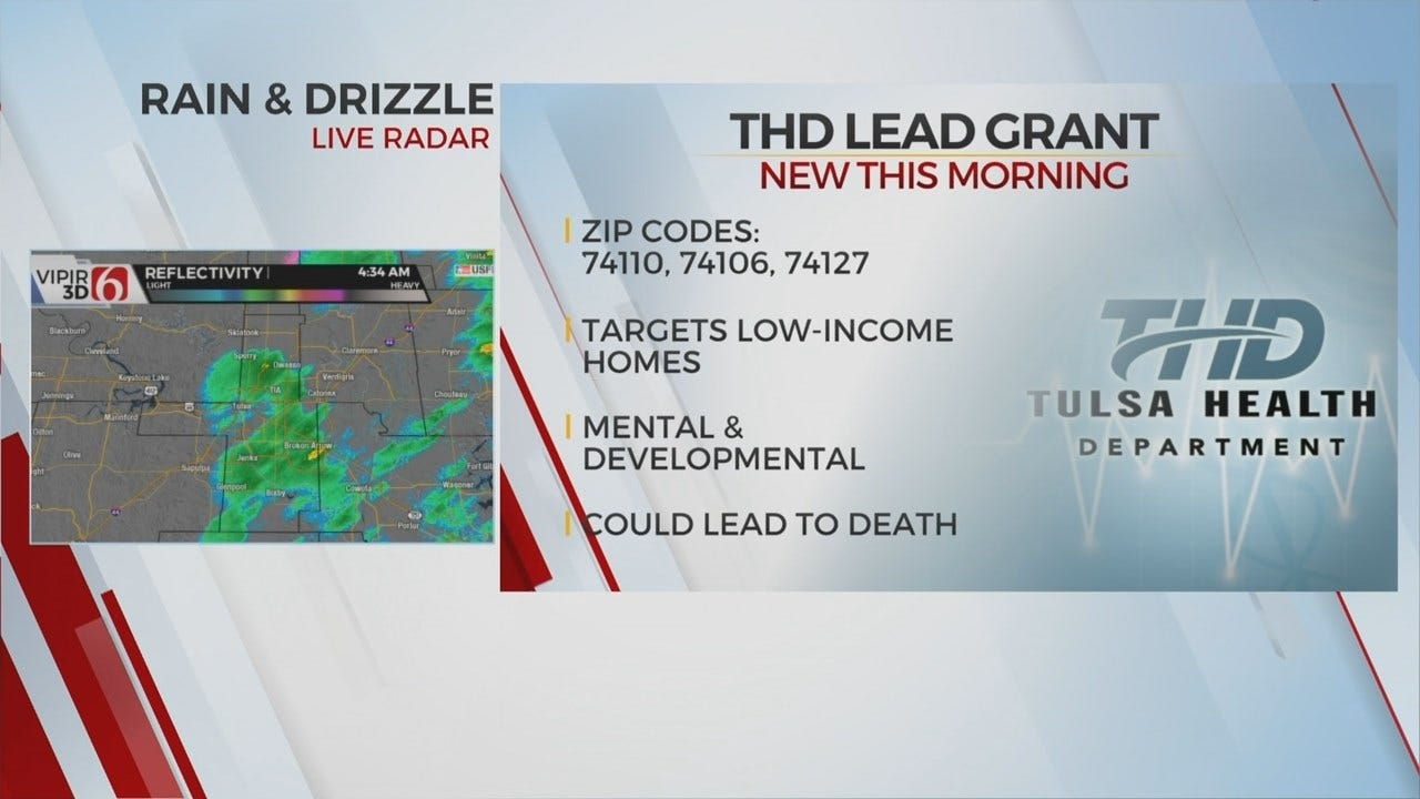 Tulsa Health Department Receives Grant For Dangerous Lead Cleanup