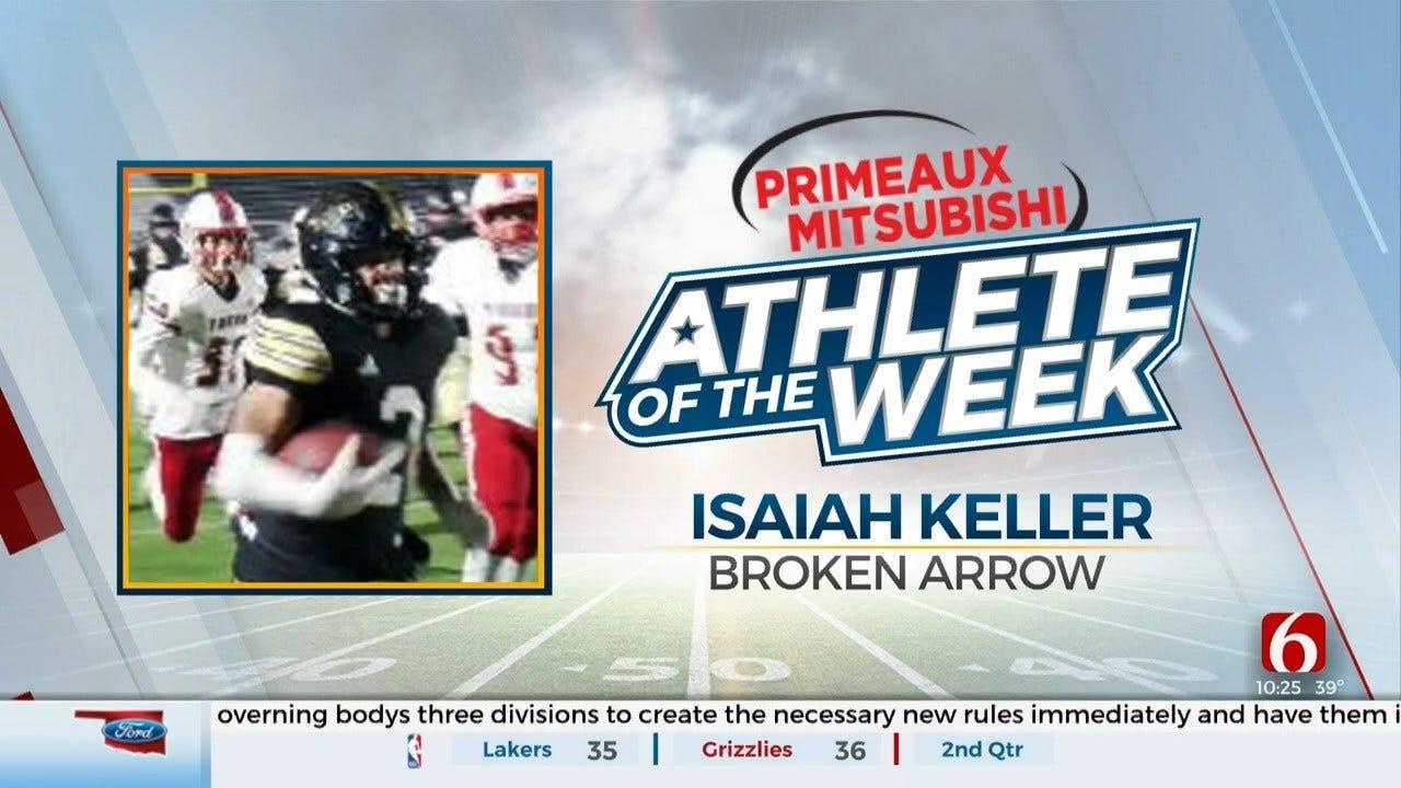 Primeaux Mitsubishi Athlete Of The Week: Isaiah Keller