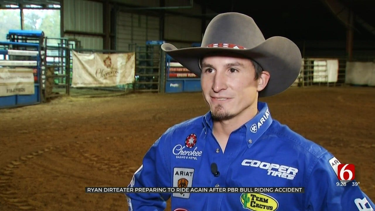 Oklahoma Bull Rider Back Competing After Previous Injury Accident