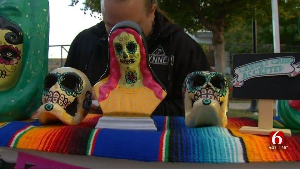 Living Arts, Guthrie Green Holds Día de Los Muertos