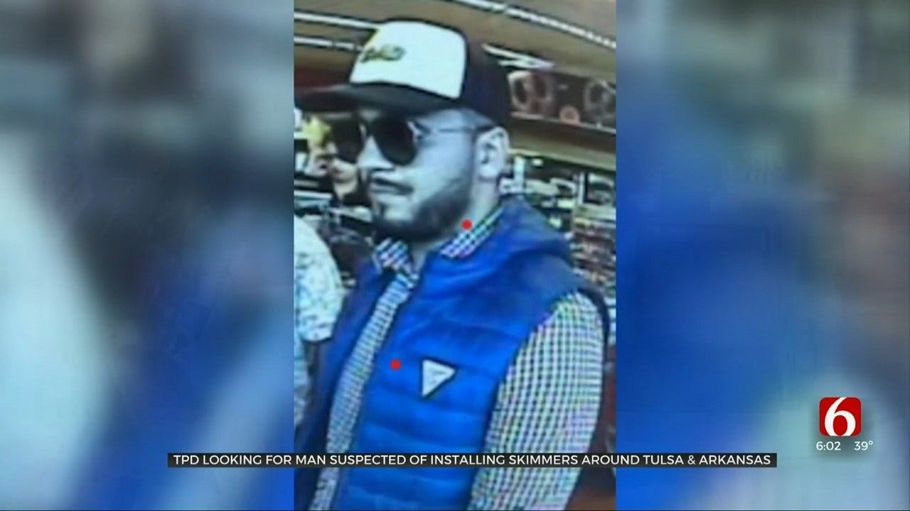 Tulsa Police: Man Uses Credit Card Skimmers To Steal Over $60,000