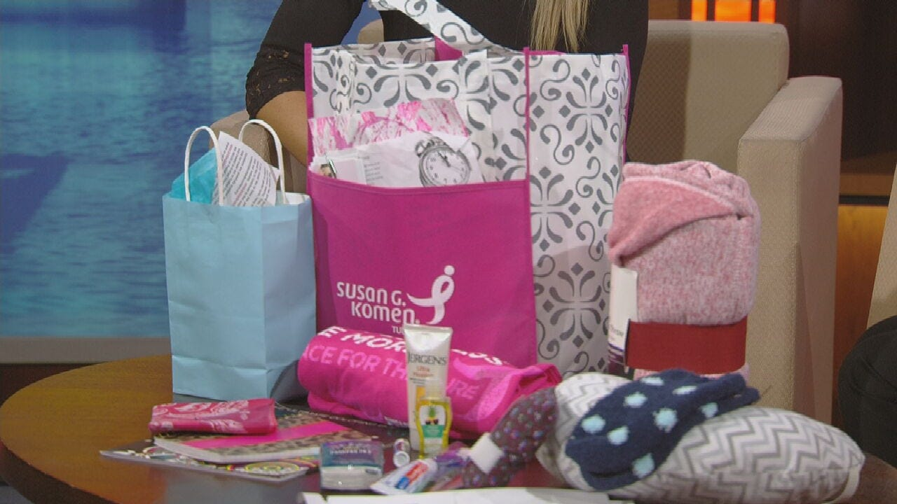 Susan G. Komen Providing Care Packages For Oklahomans Diagnosed With Breast Cancer