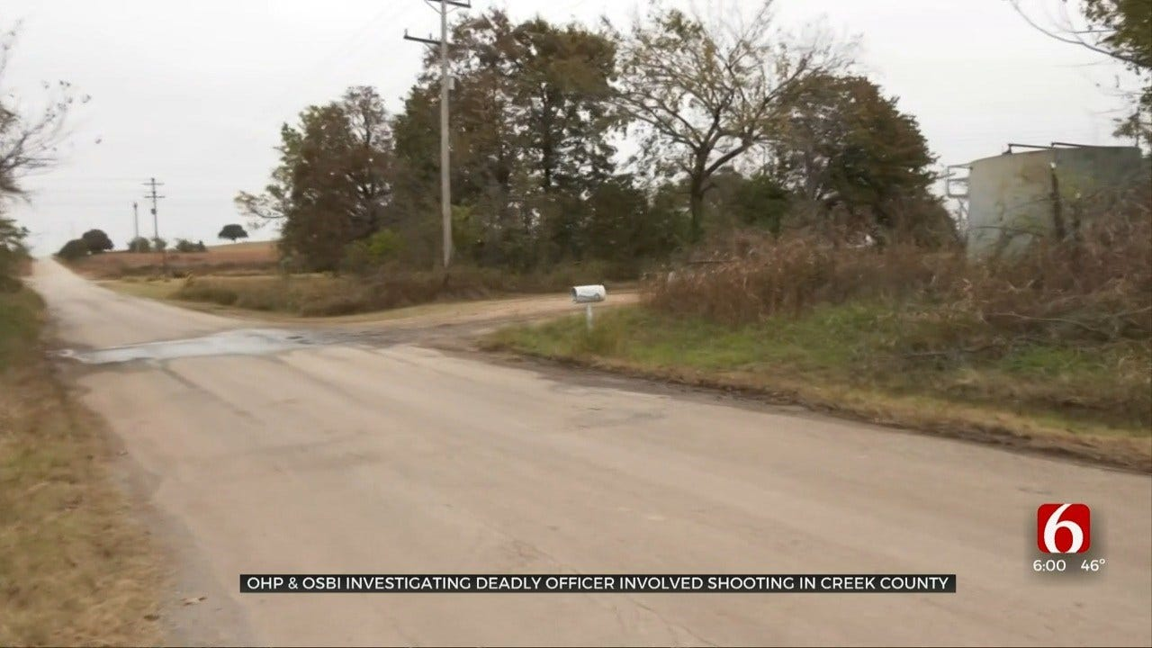 Creek County Neighbors Concerned After Deadly Officer Involved Shooting