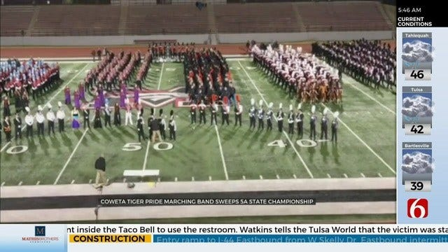WATCH: Northeastern Oklahoma School Bands Bring Home Big Honors