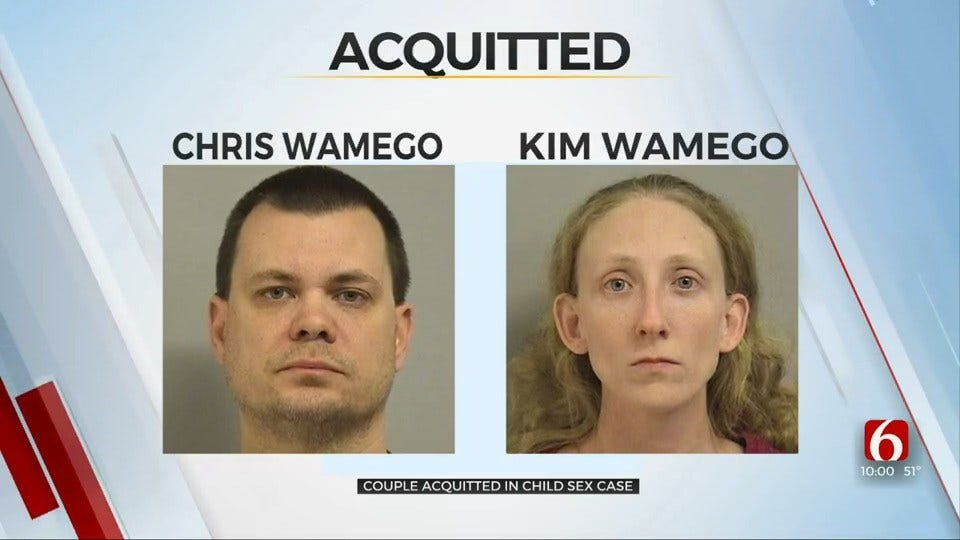 Broken Arrow Couple Acquitted In Child Sex Case Involving Teenage Boy