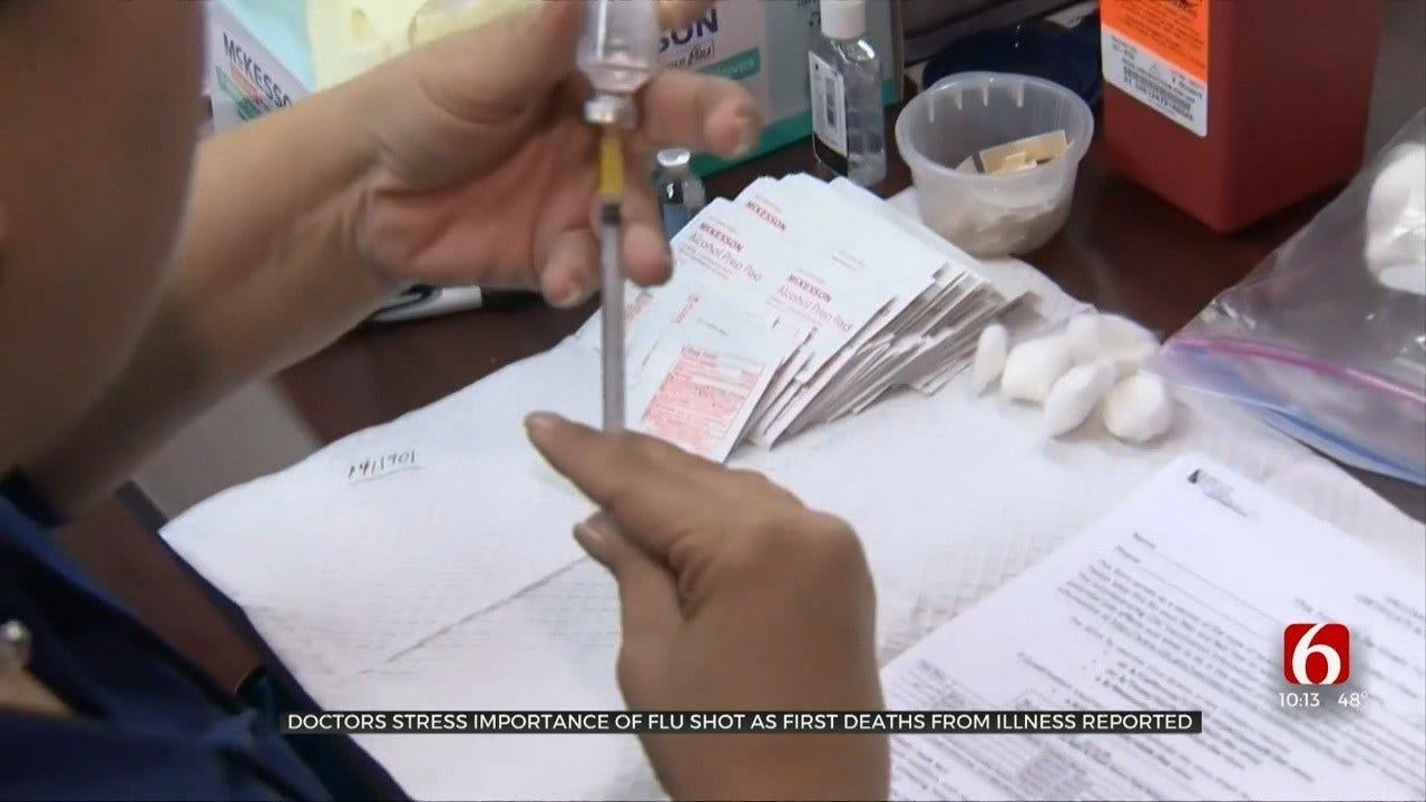 CDC Reports First Child Deaths For Flu Season
