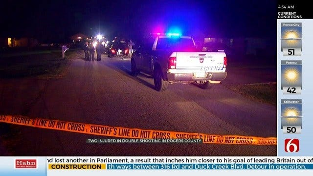 2 injured After Rogers County Shooting