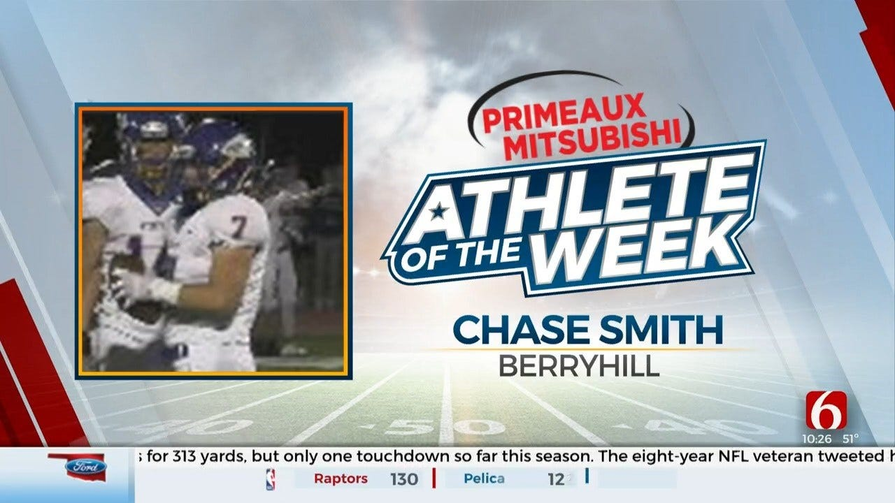 Primeaux Mitsubishi Athlete Of The Week: Berryhill's Chase Smith