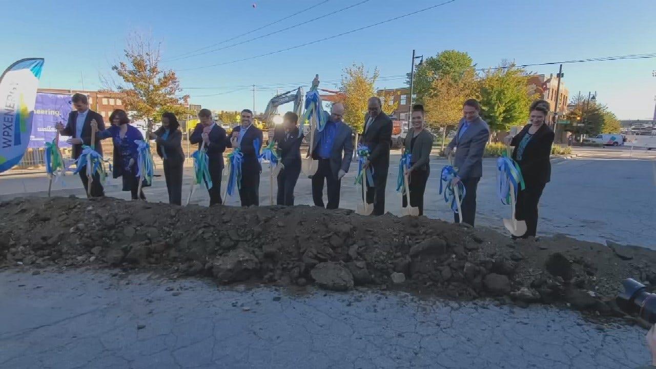 WPX Energy Breaks Ground On New Tulsa Headquarters