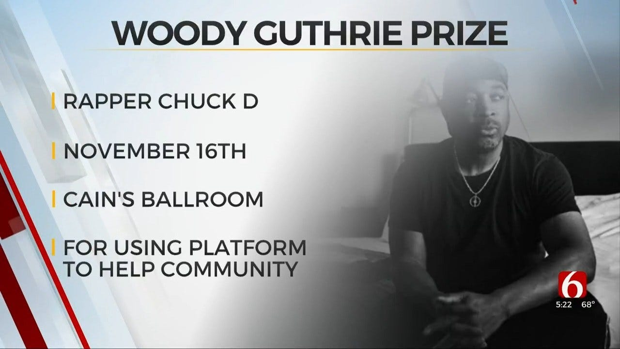 Rapper Chuck D To Receive 2019 Woody Guthrie Prize