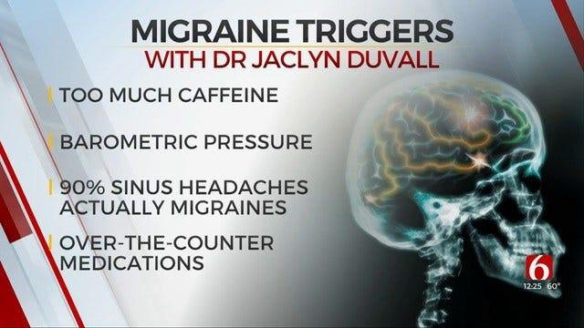 Tulsa Neurologist Discusses Migraine Triggers & Treatments