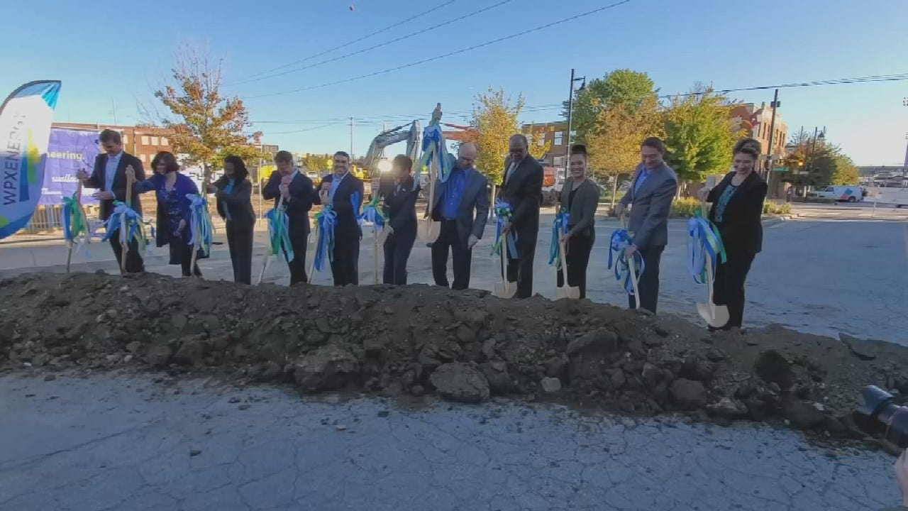 WPX Energy Breaks Ground On New Tulsa Headquarters