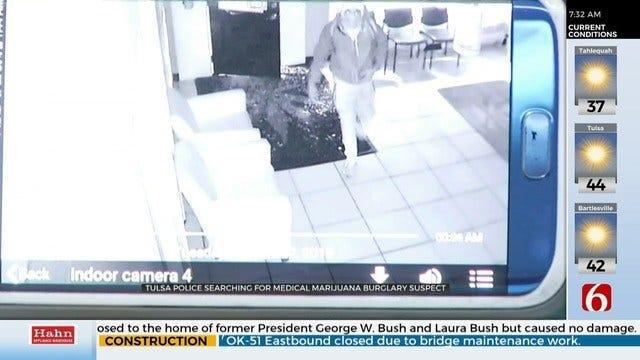 EXCLUSIVE VIDEO: Medical Marijuana Dispensary Burglary Caught On Security Camera