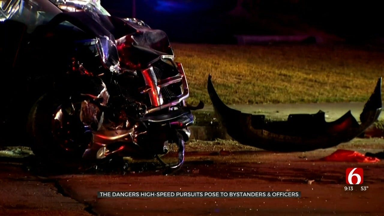 Tulsa County Police Chase Ends In Innocent Man's Death