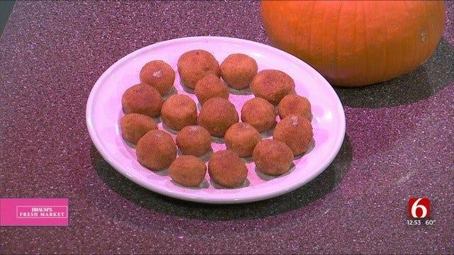 WW Pumpkin Spice Cookie Dough Bites