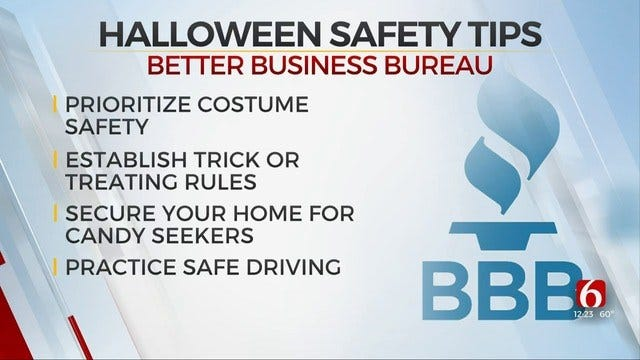 Safety Tips For Avoiding Scary Halloween Situations