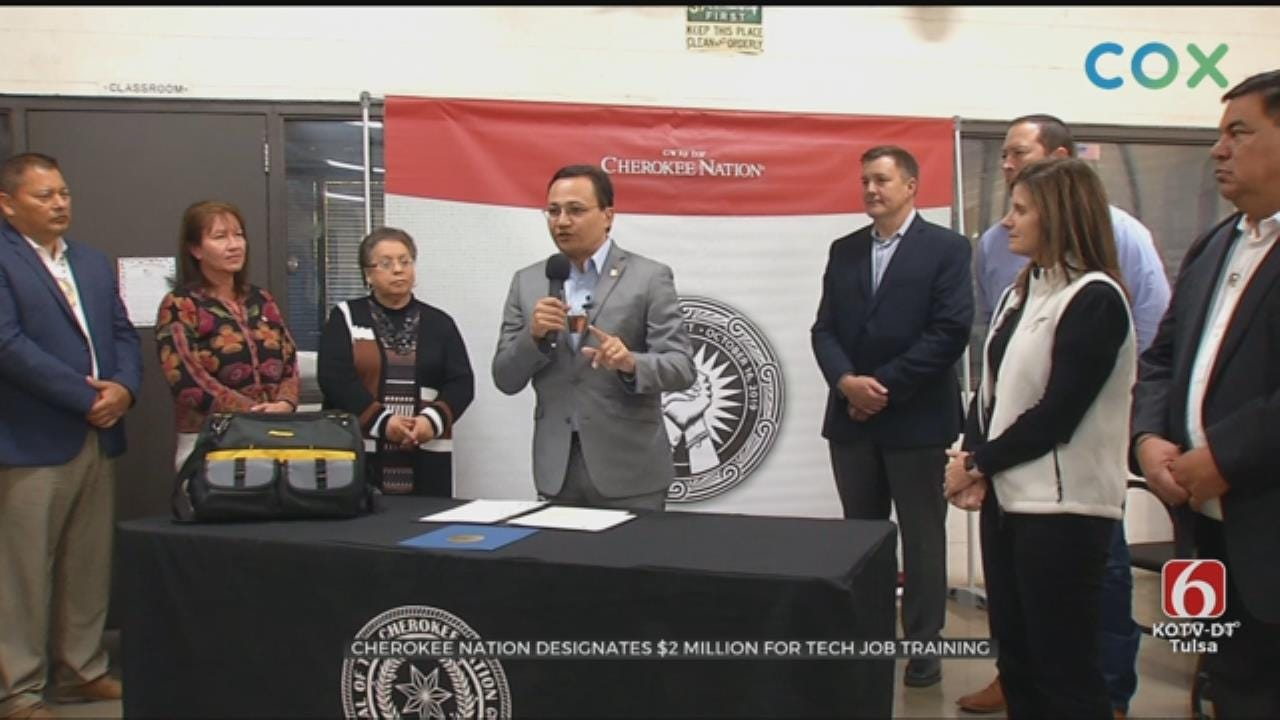 Cherokee Nation Dedicates $2 Million To Fund Tech Education In Pryor
