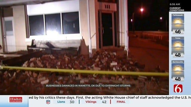 WATCH: Severe Weather Left Storm Damage In Southeast Oklahoma