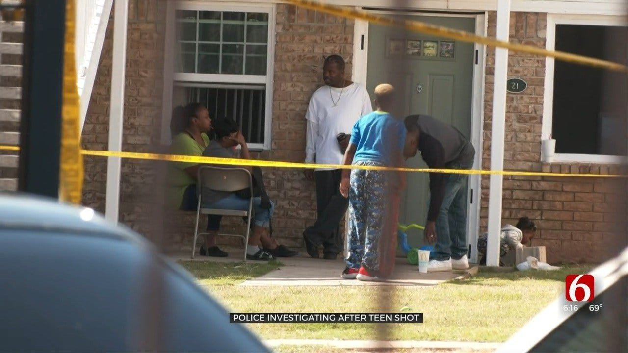 Teenager In The Hospital After South Tulsa Shooting