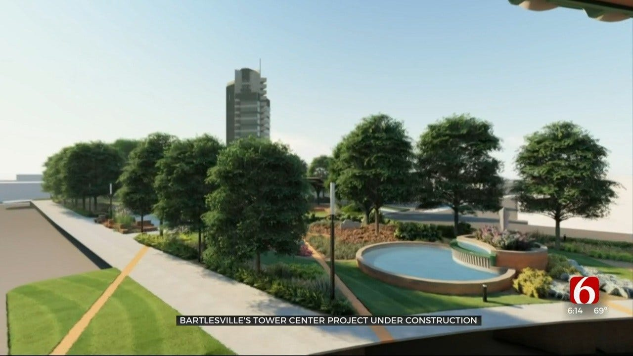 Bartlesville Tower Center Project Gives Community New Place To Gather