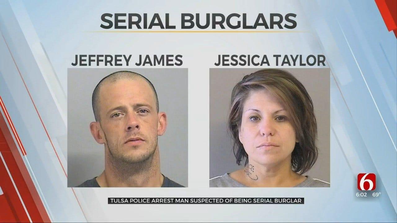 Tulsa Police Arrest Man Accused Of Serial Burglary