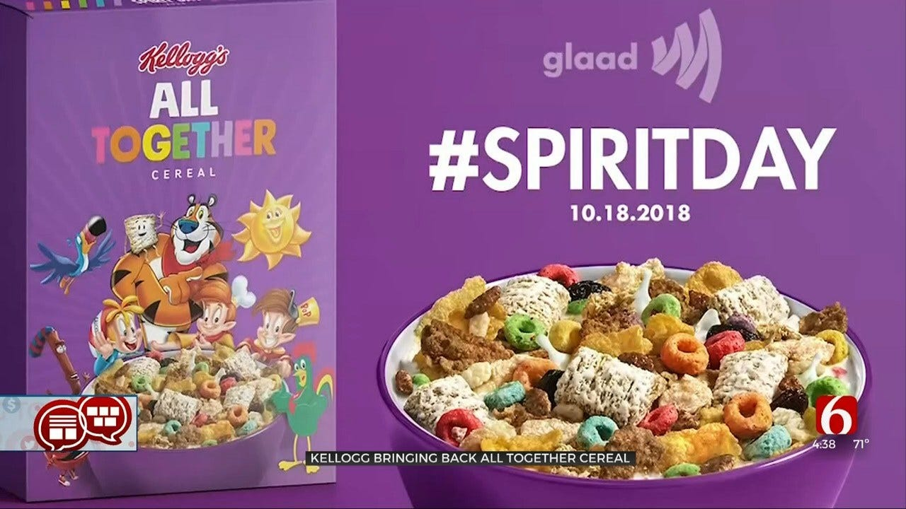 Something To Talk About: All Together Cereal