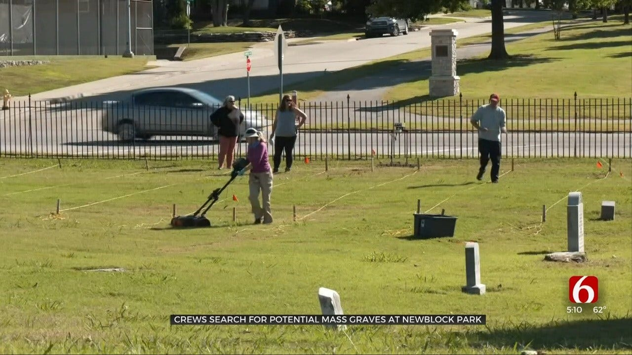 Archaeologists Return To Previously Searched Cemetery In Effort To Find Possible Mass Graves