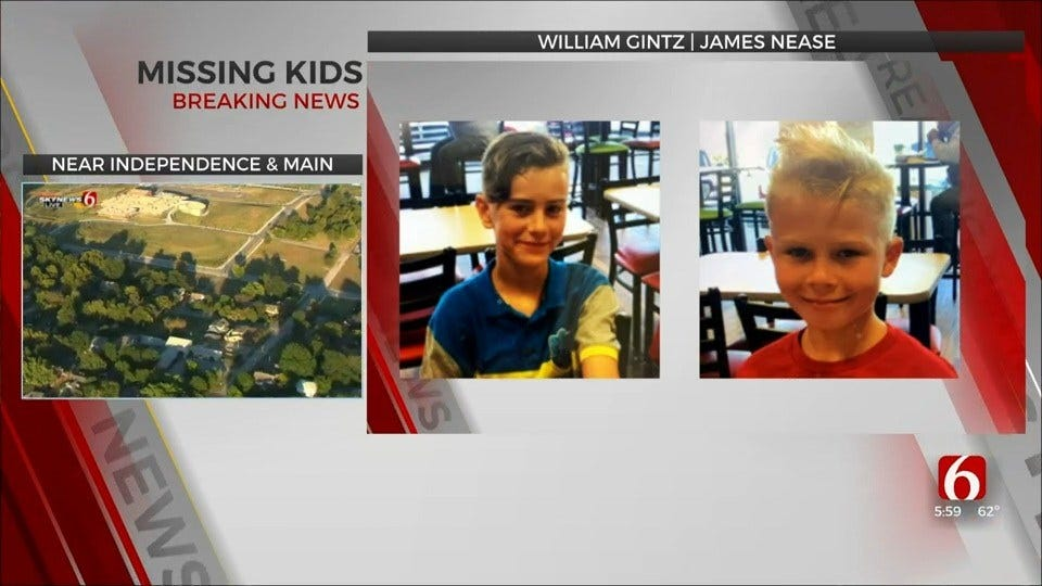 Tulsa Police: 2 Kids With Medical Issues Missing