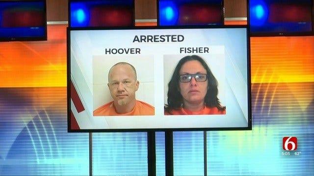 Creek County Deputies Say Couple Had Backpack Full Of Drugs