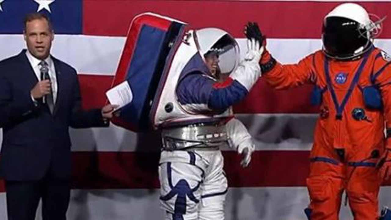 NASA Unveils High-Tech Spacesuits For Upcoming Artemis Moon Program