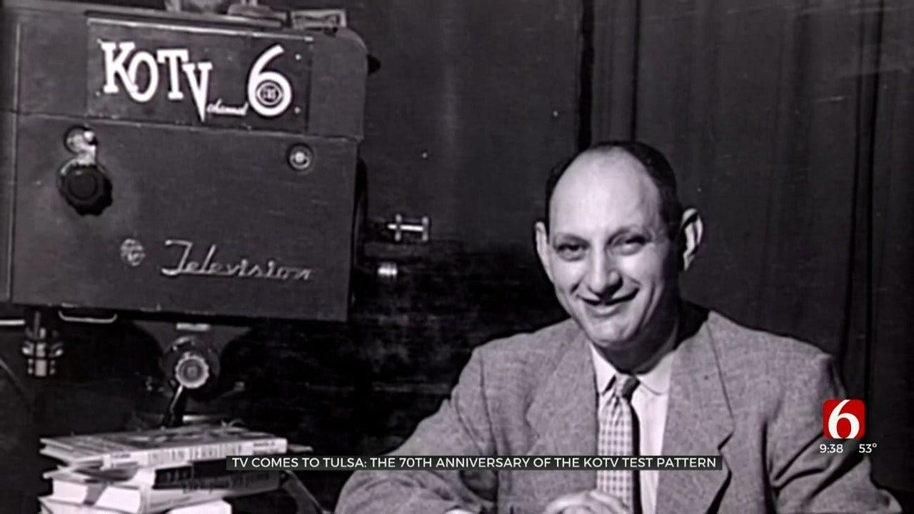 Tuesday Marks 70 Years Since TV Came To Tulsa