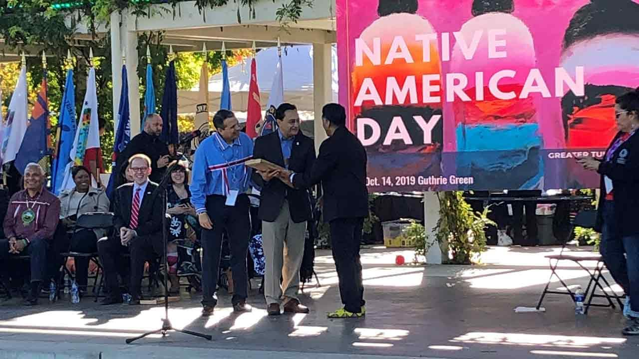 Native American Day Celebrated In Tulsa