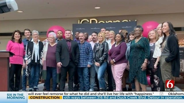 WATCH: Breast Cancer Survivors, First Responders Help Raise Funds To Find A Cure