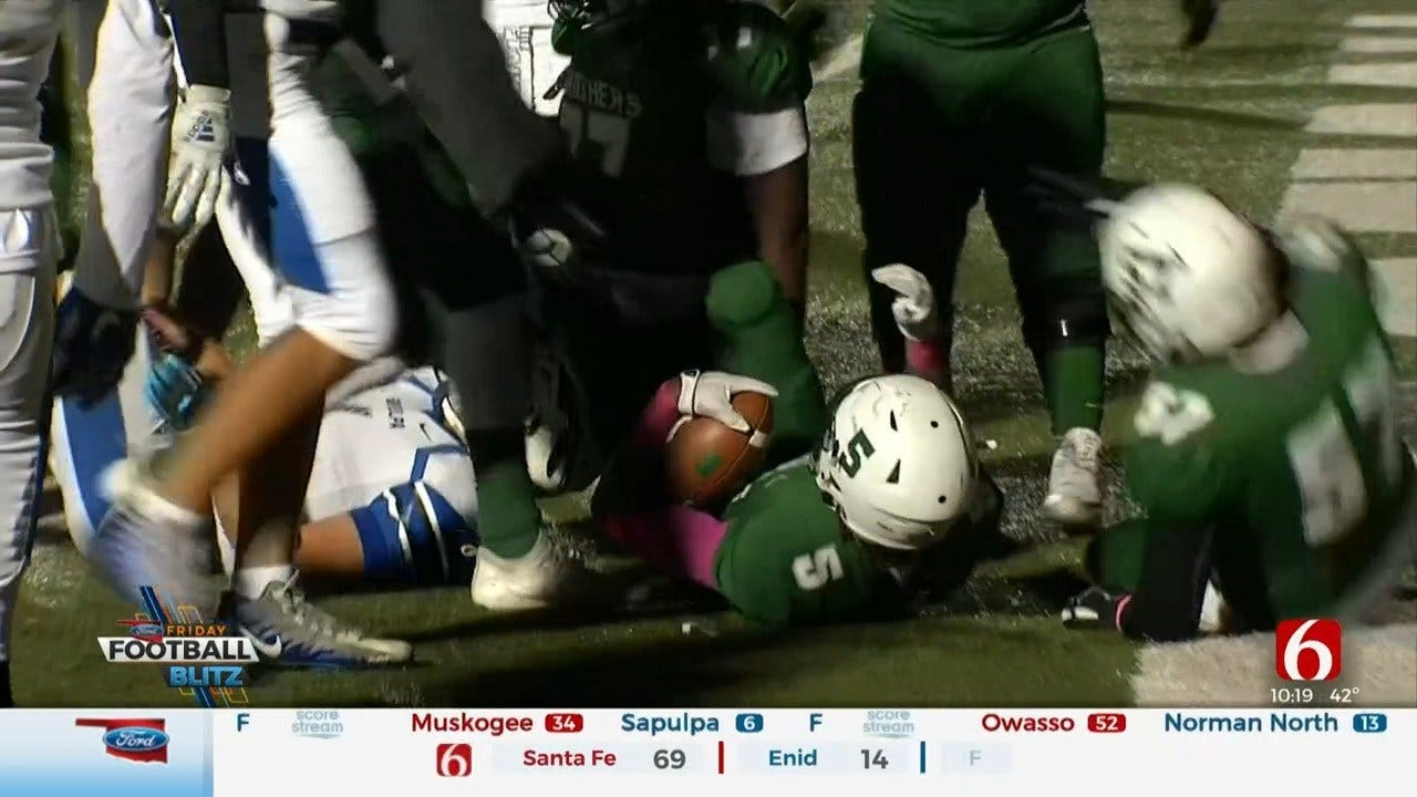 News On 6 Game Of The Week: Muskogee Beats Sapulpa