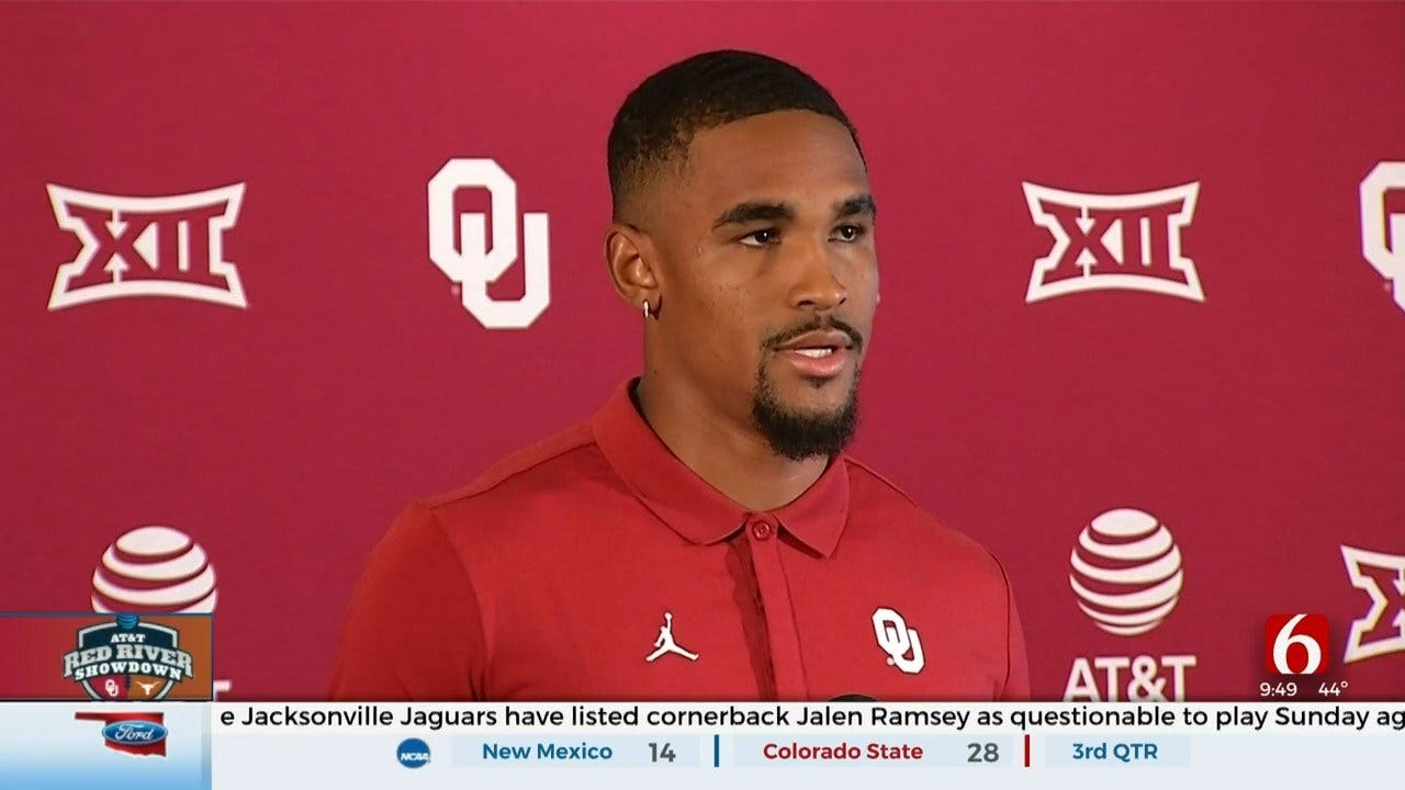 Jalen Hurts Says Executing Is Key For OU-Texas Game