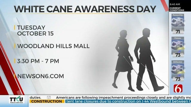 Oklahoma School For The Blind Prepares For White Cane Day