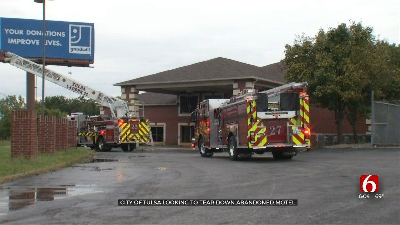 Tulsa Contemplates Tearing Down Rodeway Inn After Fire