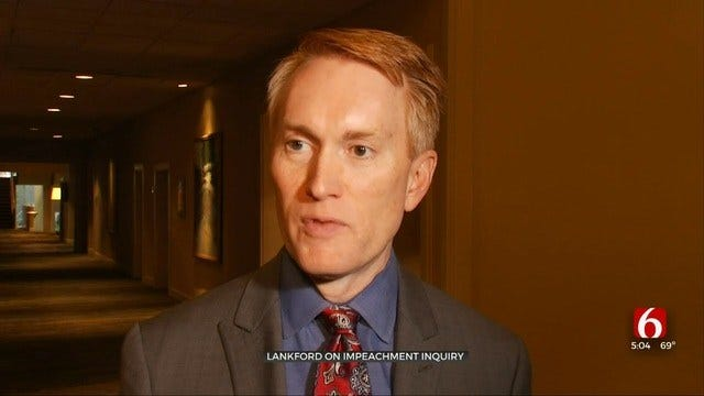 Senator James Lankford Comments On Impeachment Inquiry Against President Trump
