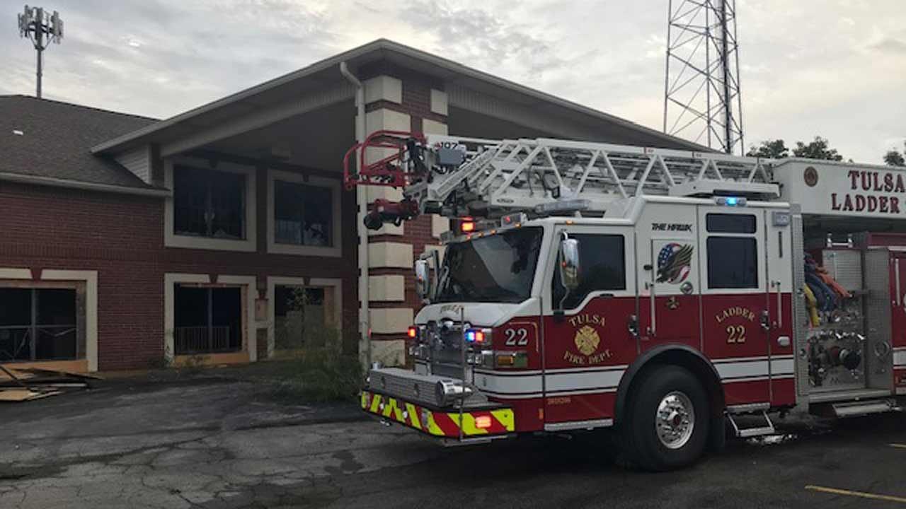 Fire At Vacant Tulsa Roadway Inn Called Suspicious
