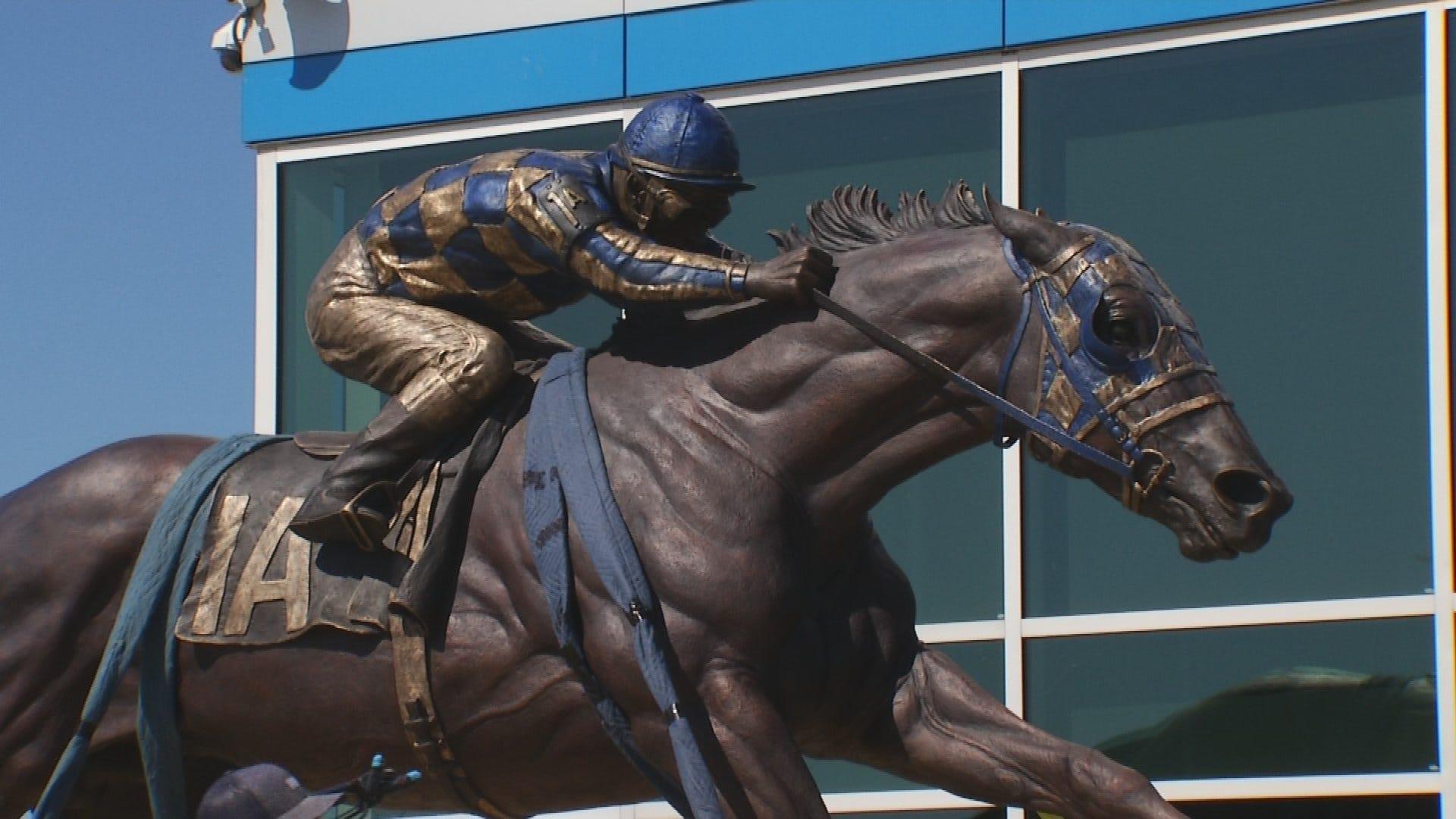 Sculptor Jocelyn Russell On Creating Amazing Secretariat Statue
