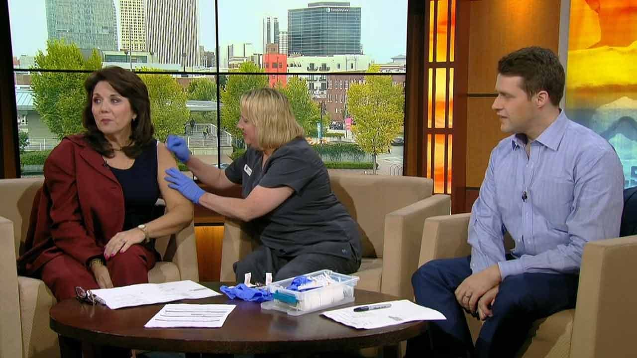 LeAnne And Dave Get Their Flu Shot With Passport Health