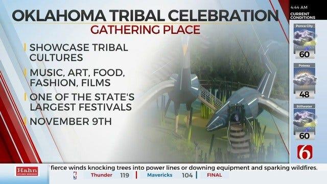 Gathering Place To Hold Oklahoma Tribal Celebration