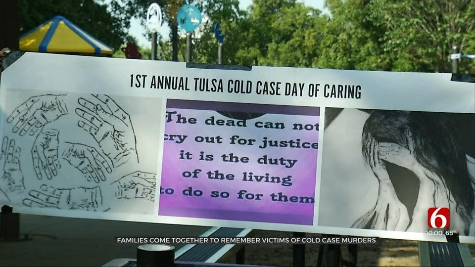 Families Come Together For 1st Tulsa Cold Case Day Of Caring