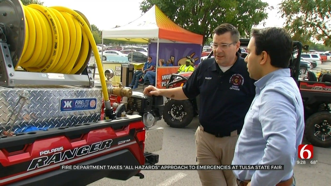 TFD Takes 'All Hazards Approach' For State Fair