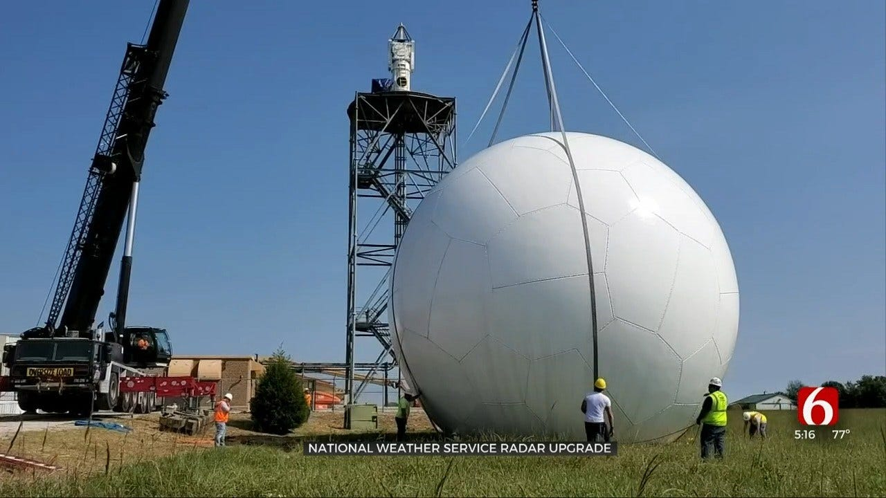 Tulsa National Weather Service Upgrades Radar