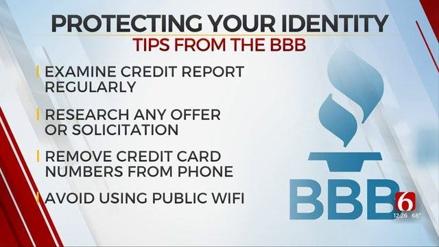 Better Business Bureau Offers Tips For Secure Your Identity Day