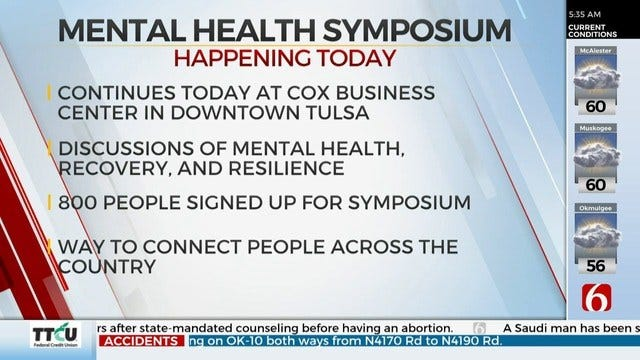 25th Annual Zarrow Mental Health Symposium Held In Tulsa