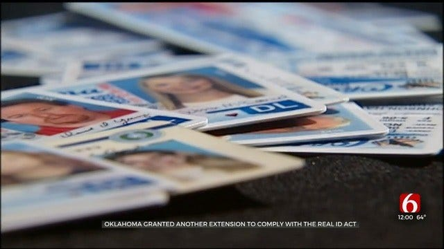 WATCH: Oklahoma Gets Real ID Act Extension