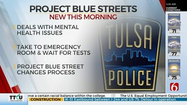 Tulsa Implements Project Blue Streets, Helps People Get Mental Health Care