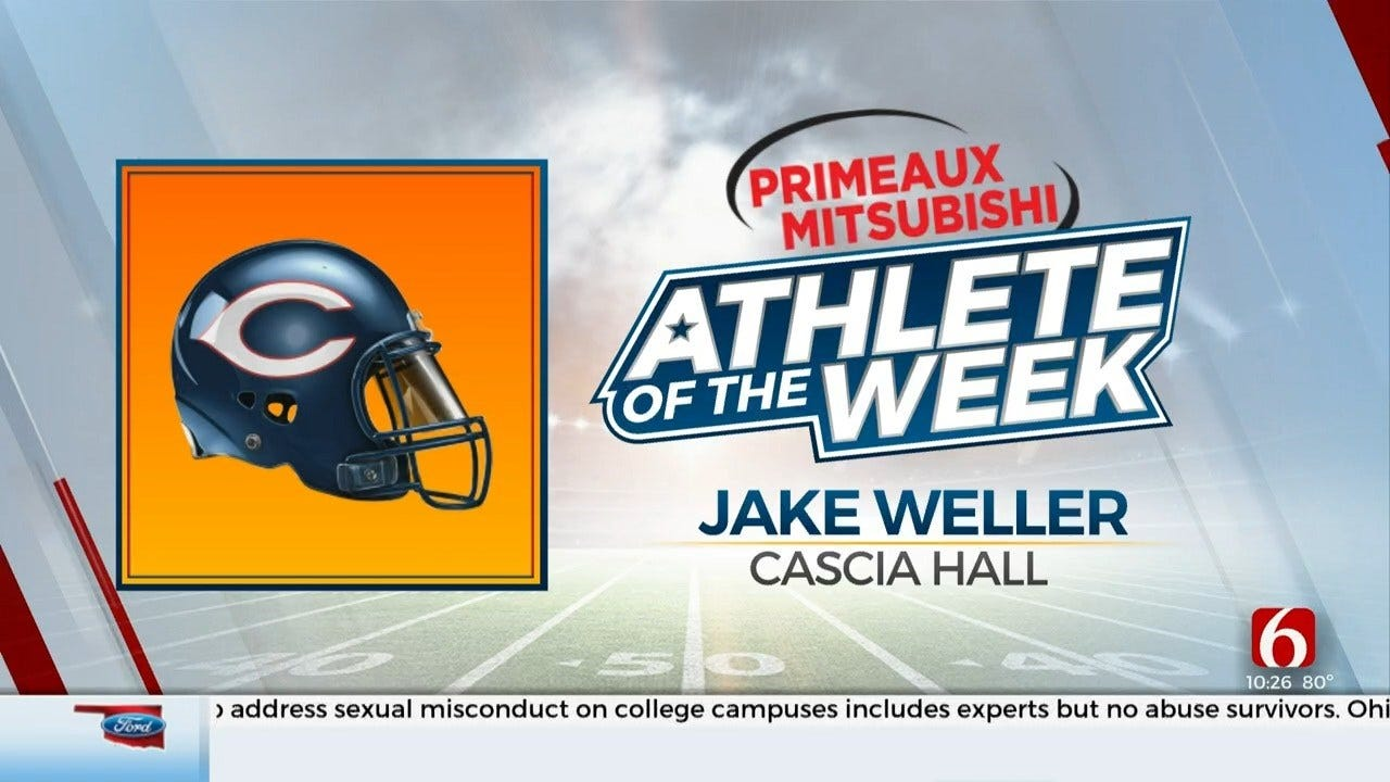 Primeaux Mitsubishi Athlete Of The Week: Jake Weller
